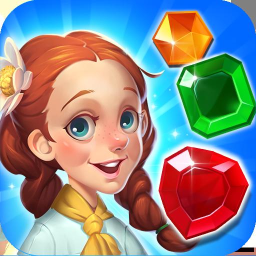 Gems Voyage Match 3 & Jewel Blast   Apk Pro Mod latest 1.0.16