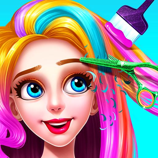 💇💇Girls Hair Salon  3.1.5052 Apk Mod (unlimited money) Download latest