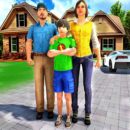 Happy Family Life Dad Mom – Virtual Housewife Care  Apk Mod latest