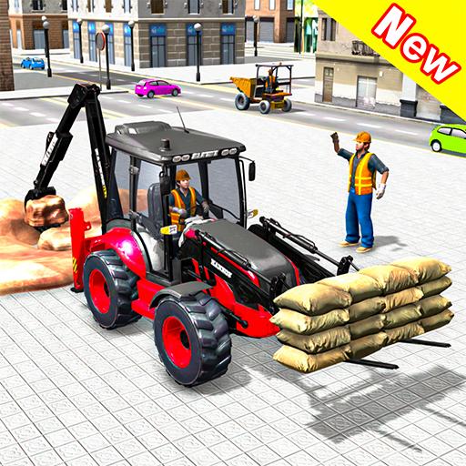 Heavy Excavator Crane Sim 2020: 3D Crane Game Apk Pro Mod latest