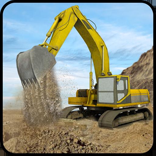 Hill Excavator Mining Truck Construction Simulator Apk Mod latest 1.3
