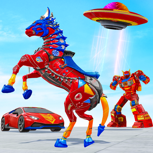 Horse Robot Car Game – Space Robot Transform wars Apk Pro Mod latest 1.1.1