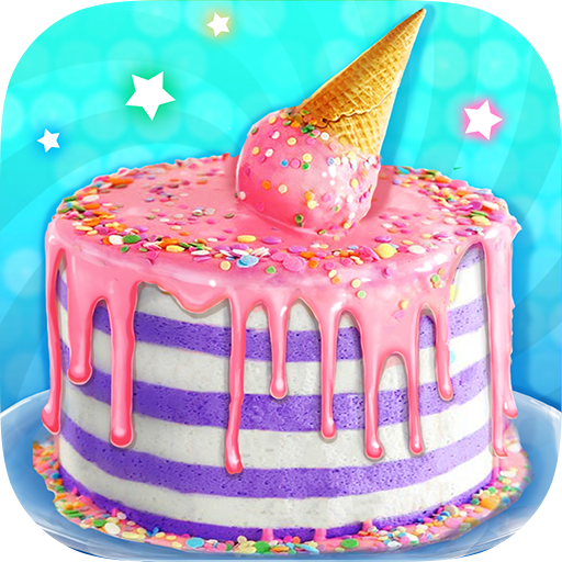 Ice Cream Cone Cake – Sweet Trendy Desserts   Apk Pro Mod latest 1.3