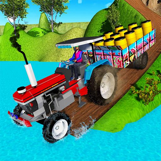 Indian Tractor Trolley Off-road Cargo Drive Game  Apk Pro Mod latest 1.0.2