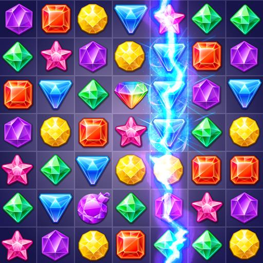 Jewels Track – Match 3 Puzzle  Apk Mod latest 5.9.5038