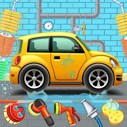 Kids Car Wash Service Auto Workshop Garage   Apk Pro Mod latest 2.8