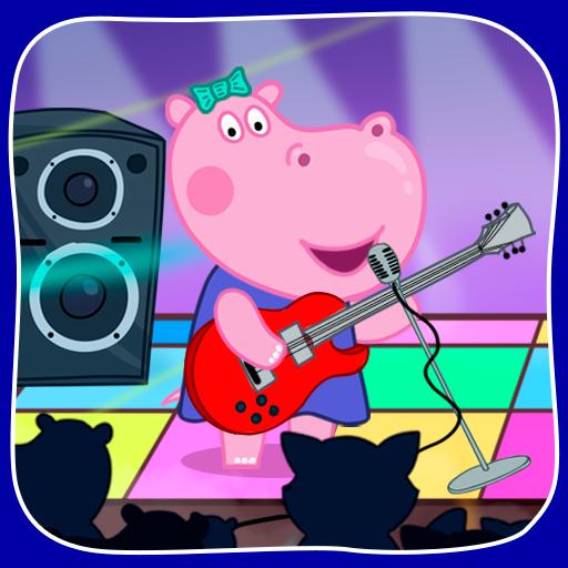 Kids music party: Hippo Super star  Apk Pro Mod latest