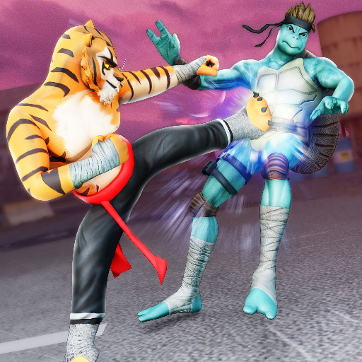Kung Fu Animal Fighting Games: Wild Karate Fighter  1.1.6 Apk Mod (unlimited money) Download latest