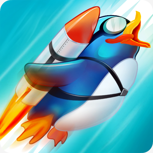Learn 2 Fly upgrade penguin games-flying up 🐧   Apk Pro Mod latest 2.8.14