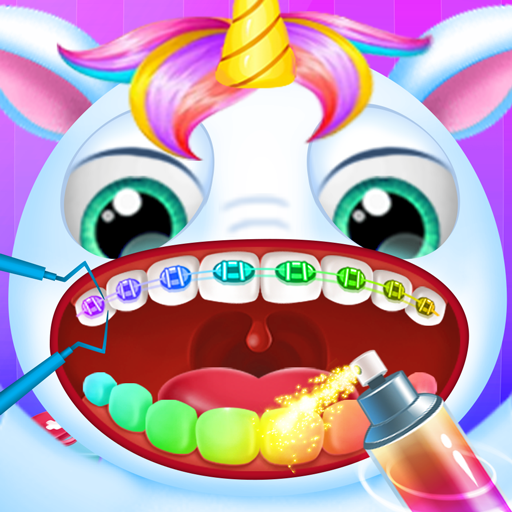 Little Unicorn Pet Doctor Dentist Apk Pro Mod latest 6