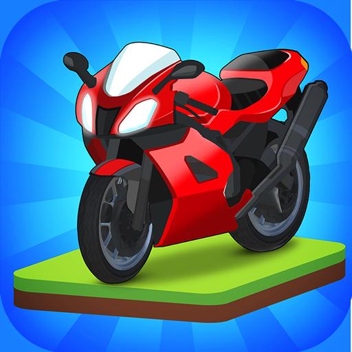 Merge Bike game   Apk Pro Mod latest 1.1.77