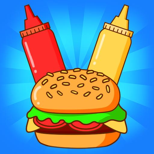 Merge Burger Food Evolution Cooking Merger   Apk Pro Mod latest 2.3.0