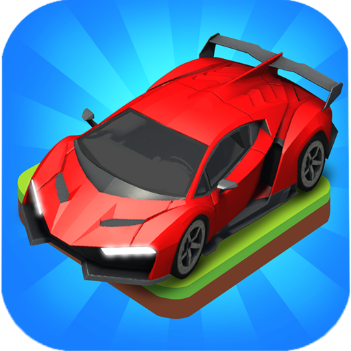 Merge Car game free idle tycoon  1.2.42 Apk Mod (unlimited money) Download latest