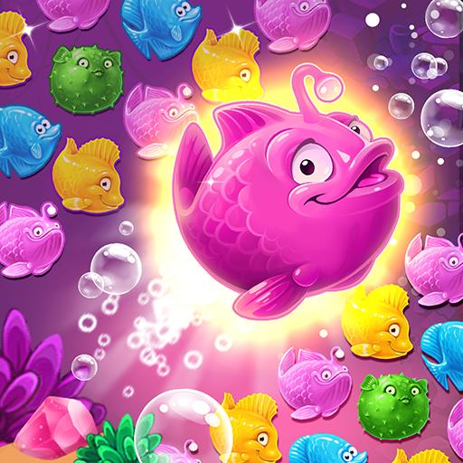 Mermaid – treasure match-3 Apk Mod latest