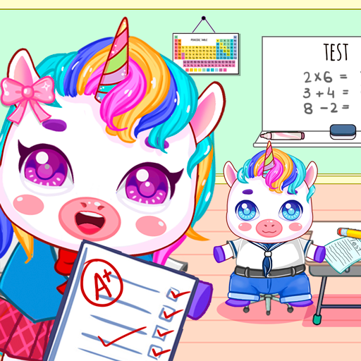 Mini Town: My Unicorn School Kids Games 2021 Apk Pro Mod latest 1.8