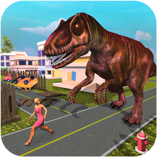 Monster Dinosaur Simulator: City Rampage Apk Pro Mod latest 1.18