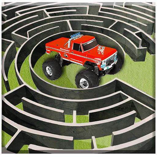 Monster Truck Maze Driving 2020: 3D RC Truck Games Apk Pro Mod latest