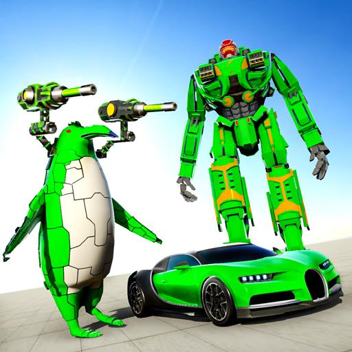 Penguin Robot Car Game: Robot Transforming Games  Apk Mod latest