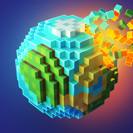 PlanetCraft: Block Craft Games  Apk Mod latest 4.15