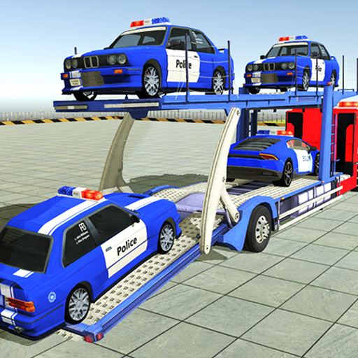 Police Car Transporter 3d: City Truck Driving Game Apk Pro Mod latest 3.2