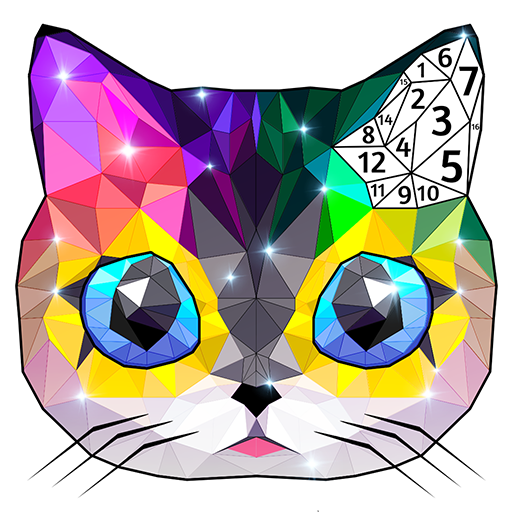 Polyart Coloring by Numbers Apk Mod latest
