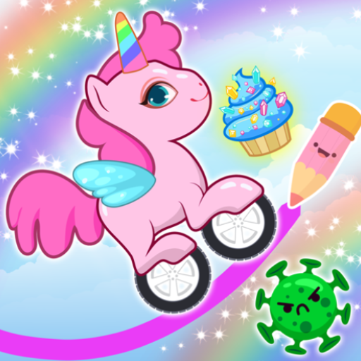 Pony Go : Drawing Race – Rainbow Paint Lines  1.4.0 Apk Mod (unlimited money) Download latest