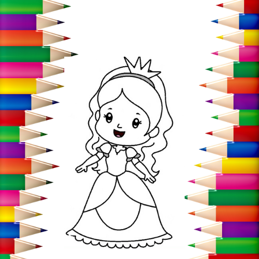 Princess Coloring Book 👸🎨 – Games for Girls 🌈  Apk Mod latest