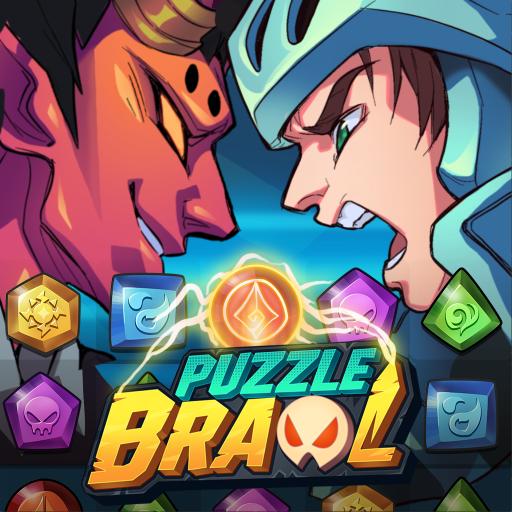 Puzzle Brawl Match 3 RPG & PvP Battle Tactics   Apk Pro Mod latest 1.2.3