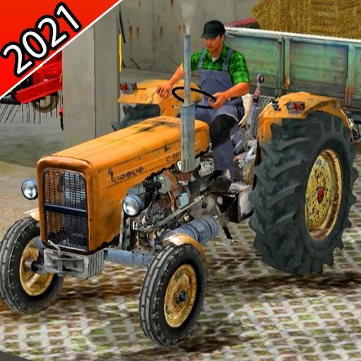Real Farming Tractor 3D Simulator 2021 Apk Pro Mod latest