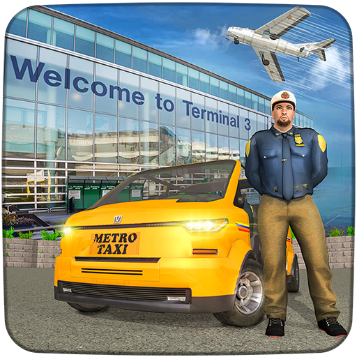 Real Taxi Airport City Driving-New car games 2020   Apk Pro Mod latest 1.8