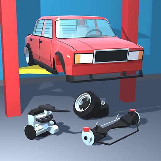 Retro Garage Car mechanic simulator  2.3.1 Apk Mod (unlimited money) Download latest