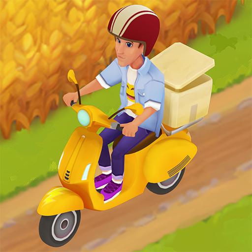 Riverside farm simulator & city building game Apk Pro Mod latest 0.13.1