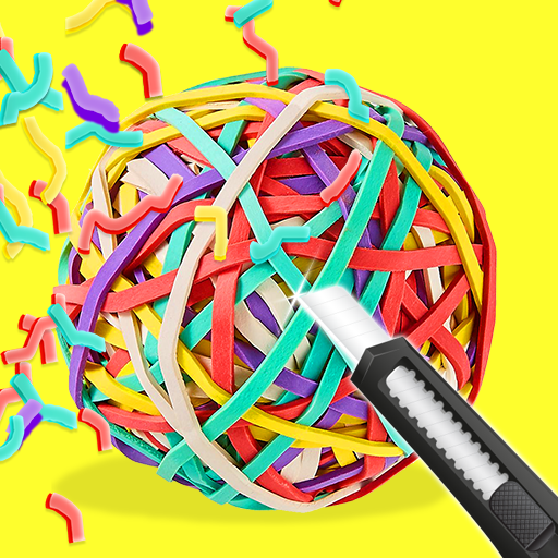 RubberBand Cutting – ASMR Apk Mod latest