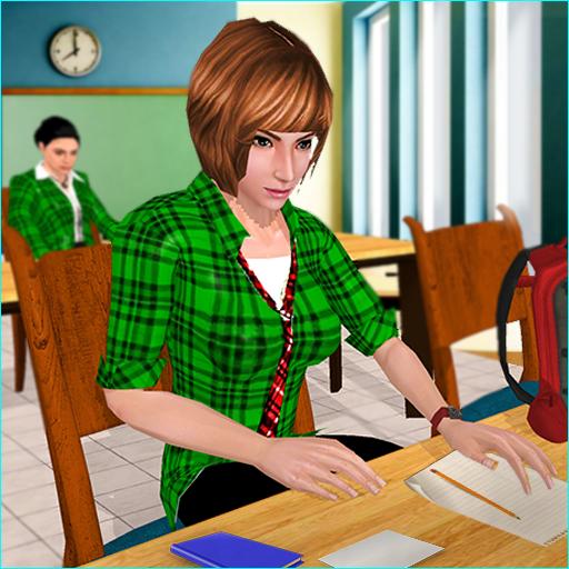 School Girl Simulator: High School Life Games Apk Pro Mod latest 1.10