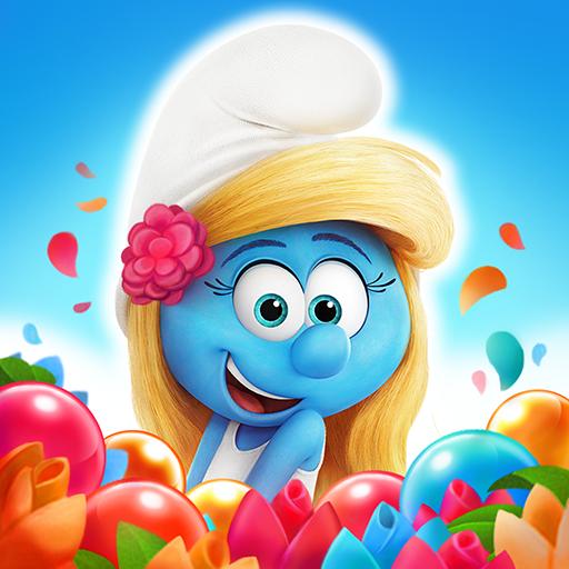 Smurfs Bubble Shooter Story Apk Pro Mod latest 3.03.040105