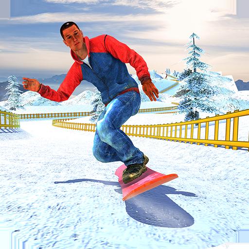 Snowboard Downhill Ski: Skater Boy 3D  Apk Mod latest
