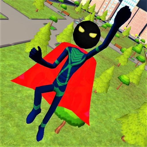 Stickman Superhero  1.5.4 Apk Mod (unlimited money) Download latest
