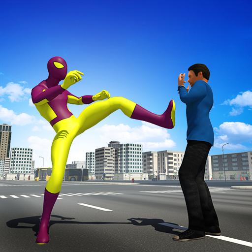 Super Spider hero 2018: Amazing Superhero Games Apk Pro Mod latest 3.1