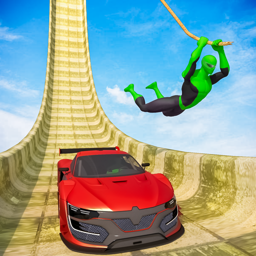 Superhero Mega Ramp: GT Racing Stunts Car_Games 1.28 Apk Mod (unlimited money) Download latest