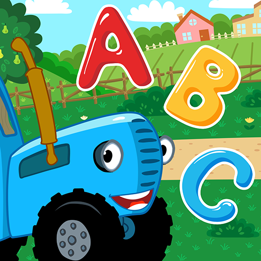 The Blue Tractor Funny Learning! Game for Toddlers  Apk Pro Mod latest