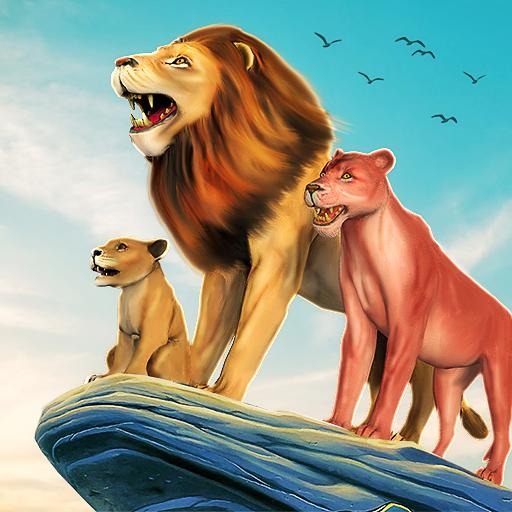 The Lion Simulator: Animal Family Game  Apk Pro Mod latest