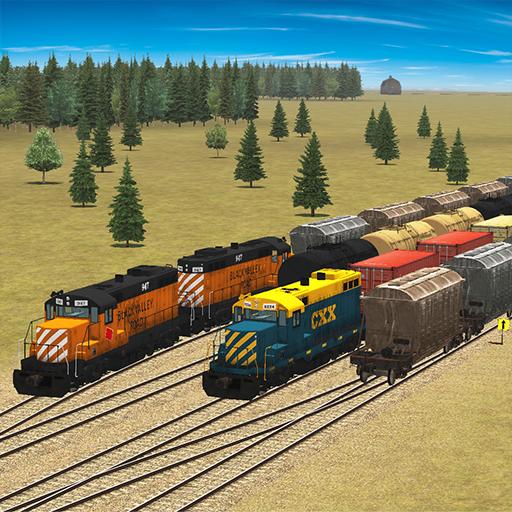 Train and rail yard simulator Apk Mod latest