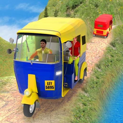 Tuk Tuk City Driving 3D Simulator  Apk Mod latest