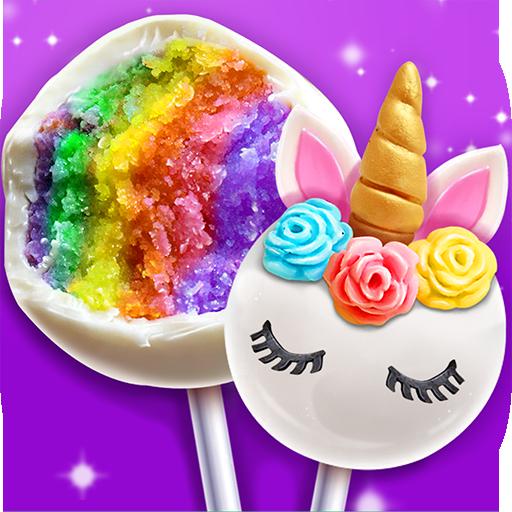 Unicorn Cake Pop Maker – Sweet Fashion Desserts  Apk Pro Mod latest
