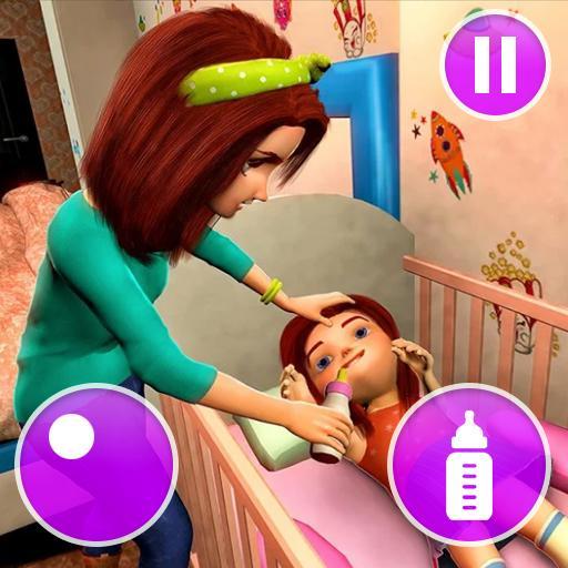 Virtual Mother Game: Family Mom Simulator   Apk Pro Mod latest 1.34