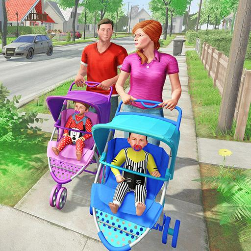 Virtual Mother New Baby Twins Family Simulator   Apk Pro Mod latest 2.1.8