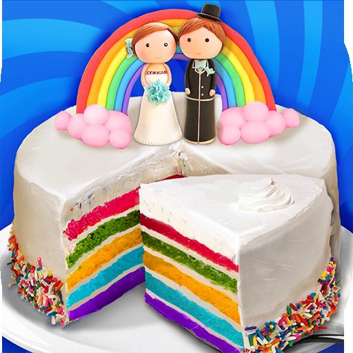 Wedding Rainbow Cake For BIG Day  Apk Mod latest