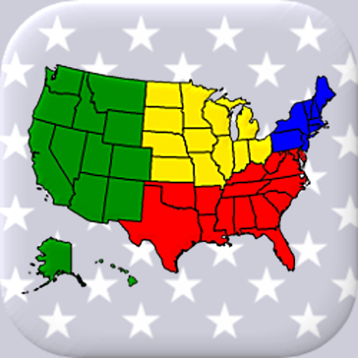 50 US States Map, Capitals & Flags – American Quiz  Apk Mod latest 3.3.0