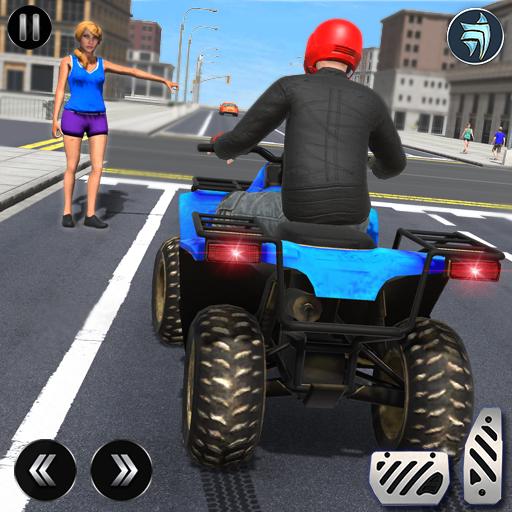 ATV Quad Bike Simulator 2021: Bike Taxi Games  Apk Mod latest 20.1