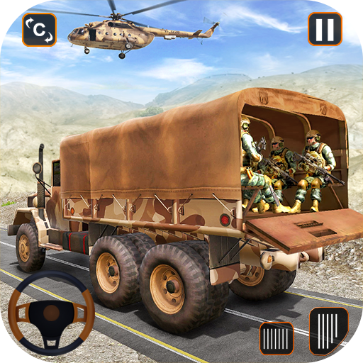 Army Truck Driving Game 2021- Cargo Truck 3D  Apk Mod latest